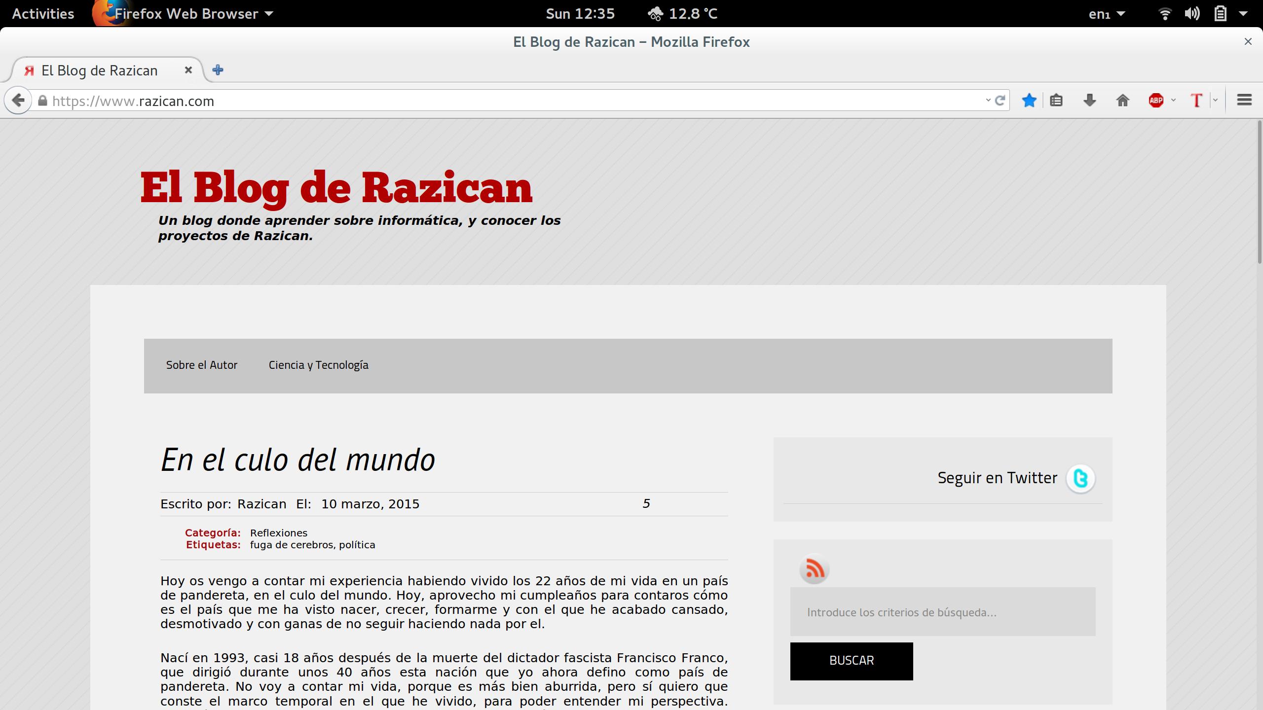 El Blog de Razican en HiDPI